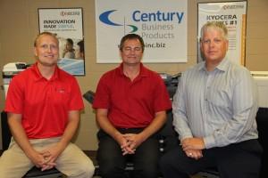 left to right: Aaron Gerdes, Brett Gildemaster, Kevin Jergenson