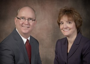 Roger King, President/COO and Mary Jo Johnson, CEO/Owner of EO Johnson Business Technologies.