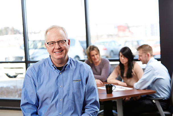 Marco CEO Jeff Gau joined the Marco family in 1984, and has transformed what started as a small typewriter dealer in 1973 into a rapidly growing technology company with offices throughout the Midwest.