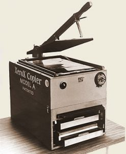 The Haloid XeroX Model A