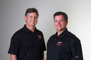 (L-R) Ken Copeland, president, and owner & executive vice president Scott Wiggins