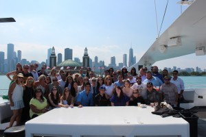 FlexPrint's Linchpins and sales team enjoy a fun trip to Chicago as a reward for their hard work earlier this year.