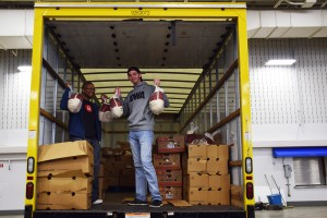 The Christmas turkeys have arrived courtesy of Impact Networking, the local business community, and Latino Community Development.