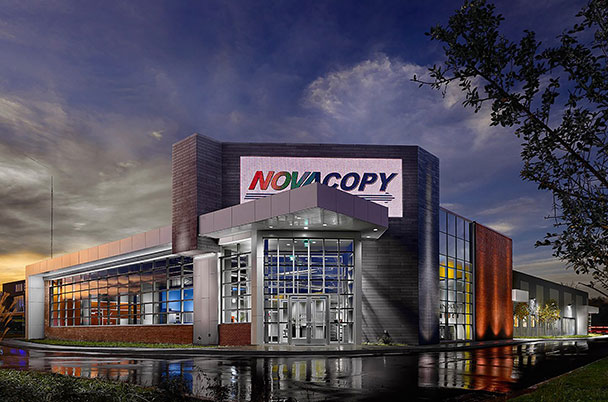 NovaCopy's LEED Gold certified office in Memphis, TN