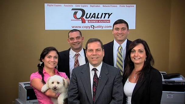 (from left) front row: Christina DiMartino, Admin Manager; Jerry DiMartino, CEO; Janey DiMartino, CFO; back row: Joseph DiMartino, Sales Manager; Anthony DiMartino, Accountant